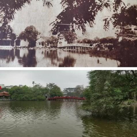 ponte sul laghetto ad hanoi