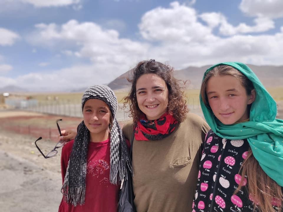 Ragazzine simpaticissime di Murghab nel Pamir in Tajikistan