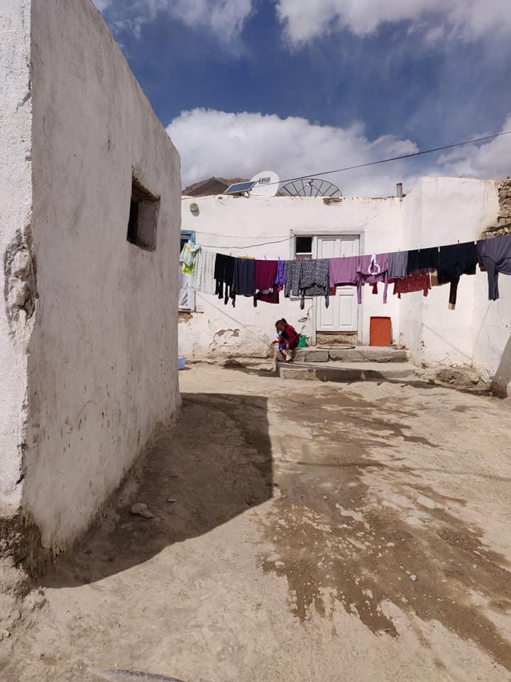case nel centro di Murghab