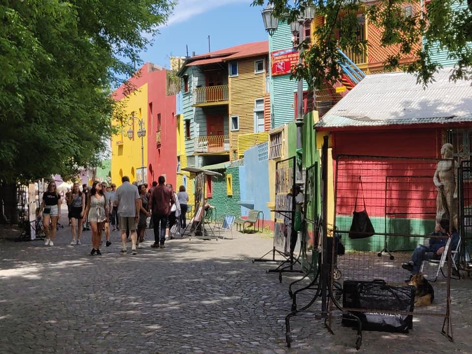 il quartiere Boca a Buenos Aires