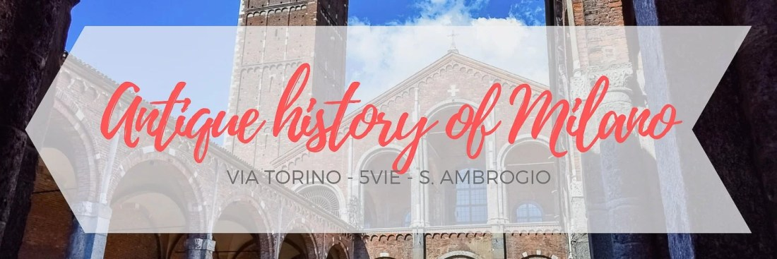 Itinerary about Via Torino and its surroundings