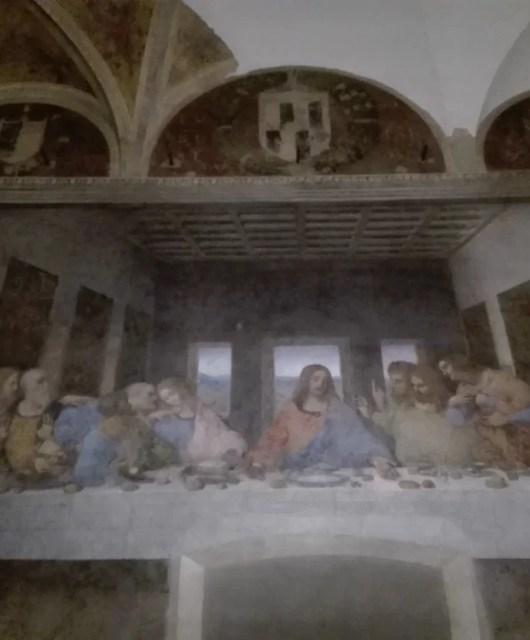 Cenacolo Vinciano di Leonardo da Vinci situato a Milano