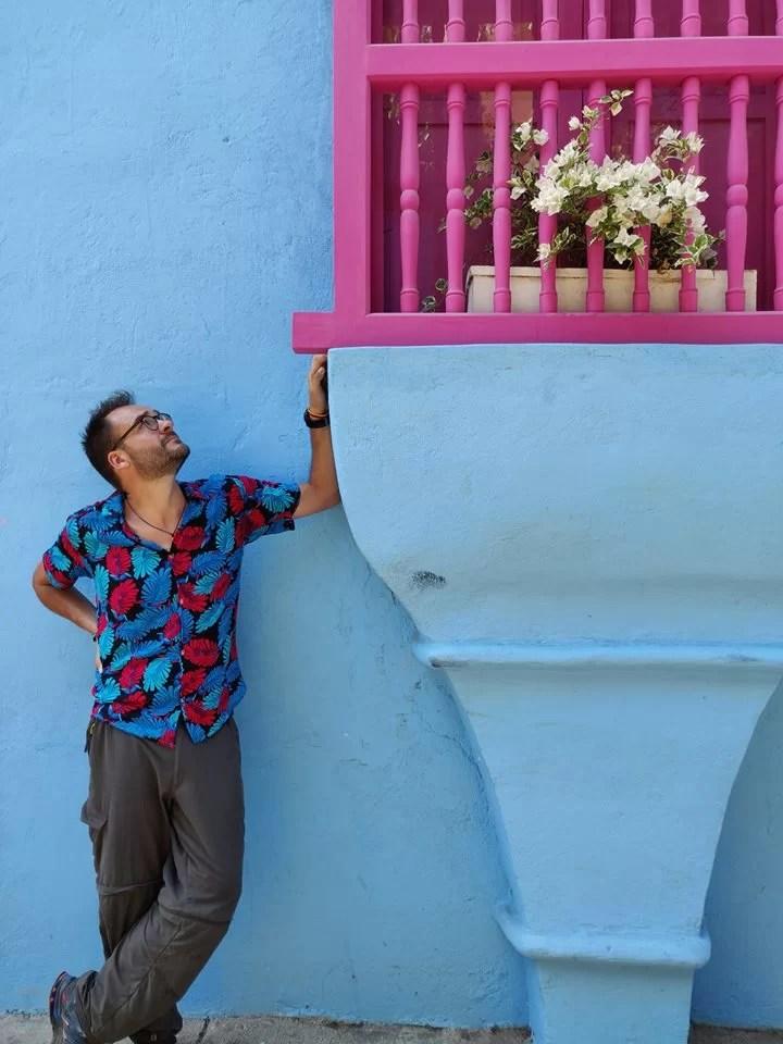 Palazzi variopinti nel centro Storico di Cartagena