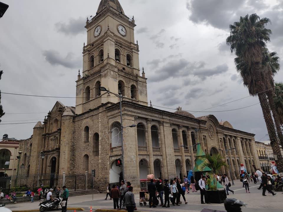 la cattedrale metropolitana di San Sebastiano a Cochabamba