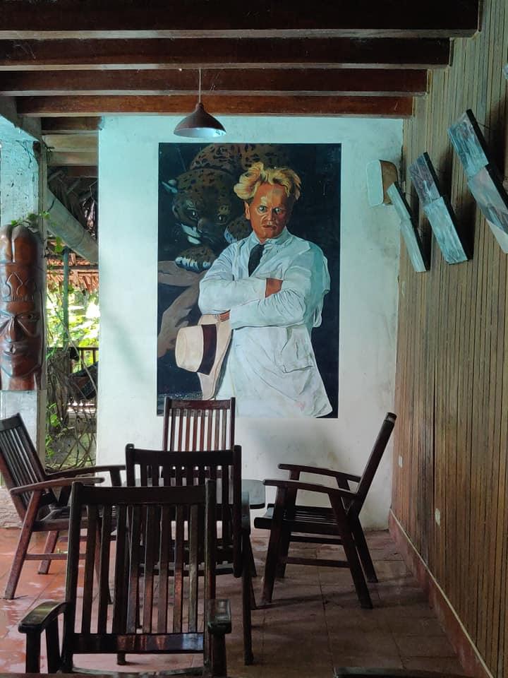 La casa Fitzcarraldo fu la residenza di Werner Herzog e il suo entourage durante le riprese di Fitzcarraldo e Aguirre Furore di Dio e si trova a Iquitos
