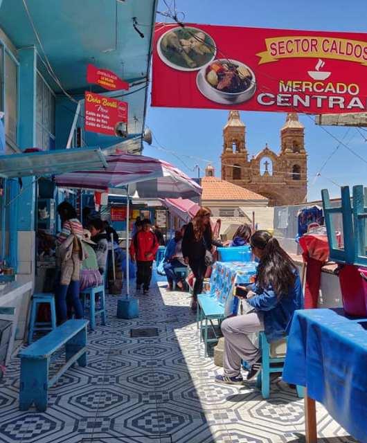 mercato centrale di potosi in bolivia