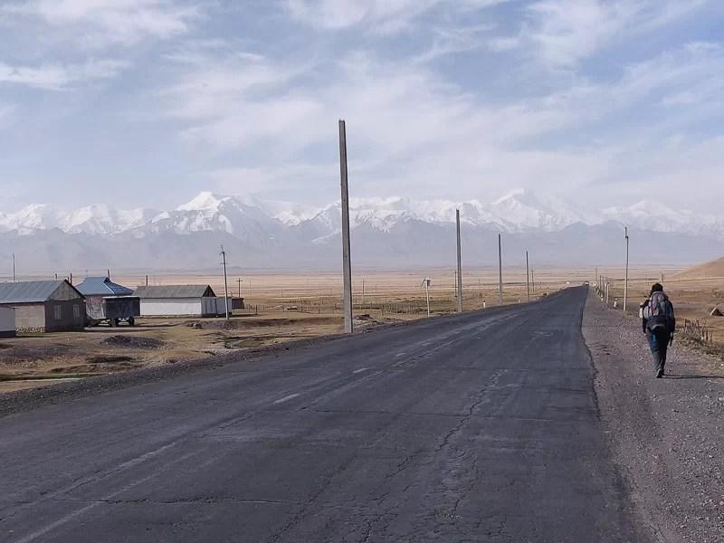 Sary Tash, la porta del Tajikistan in Kirghizistan