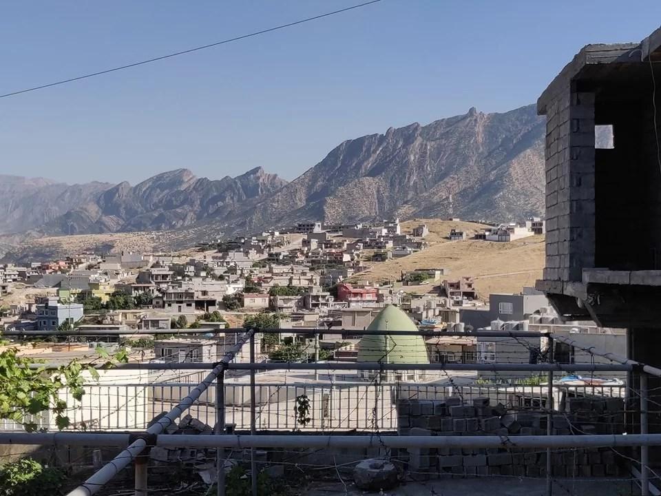 Vista da Rawanduz nel Kurdistan Iraqeno