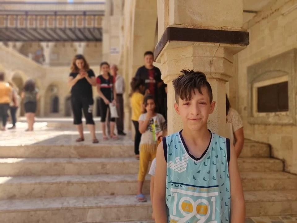 compagnie di cristiani iraqeni al Mar Mattai