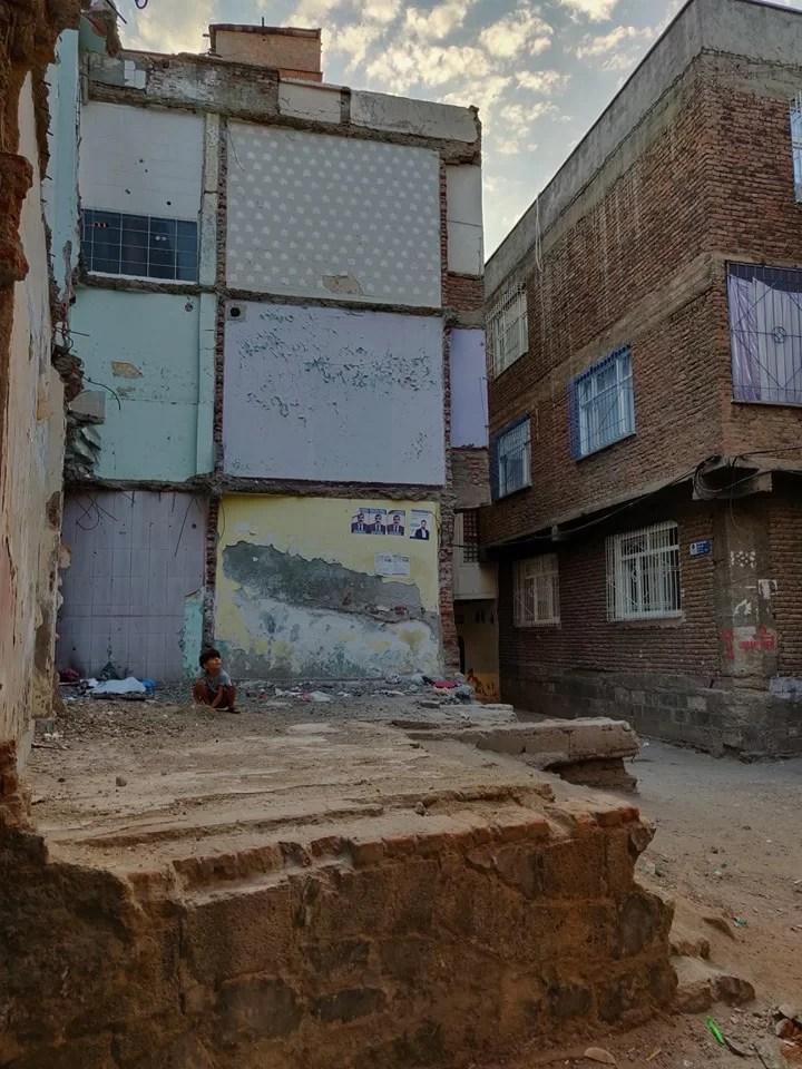vicoli della medina di Diyarbakir