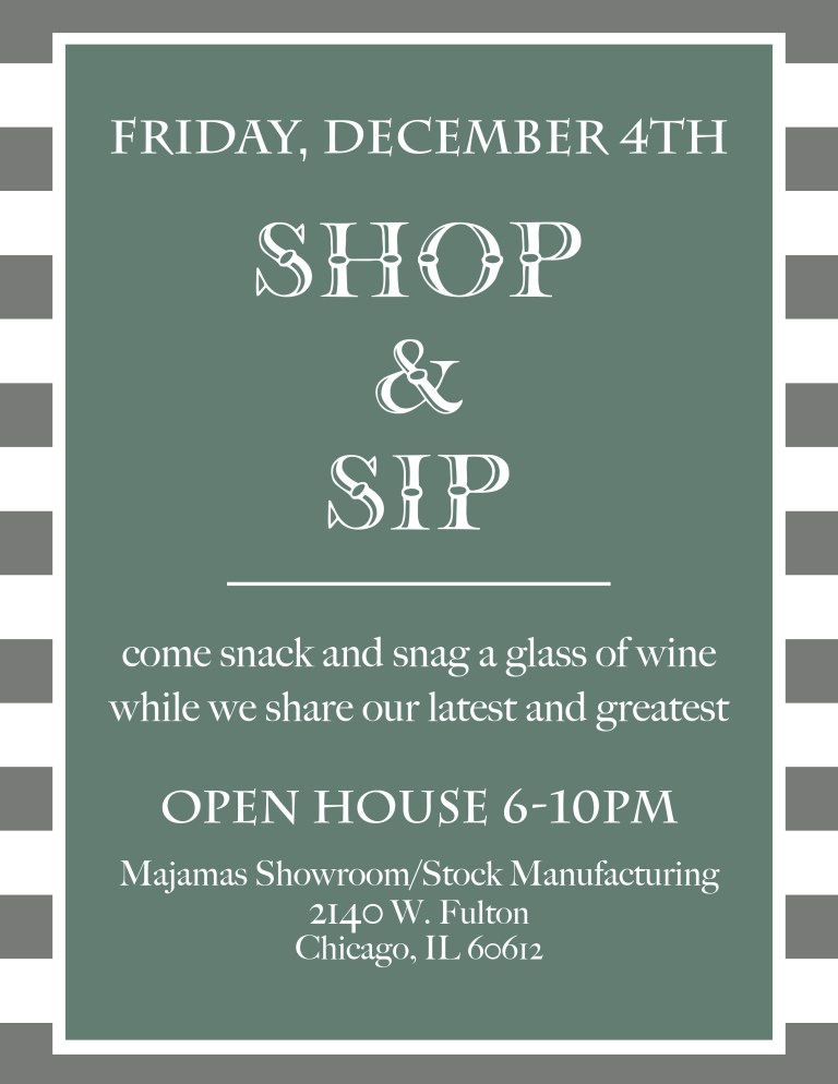 MAJAMAS Shop & Sip Invite 1