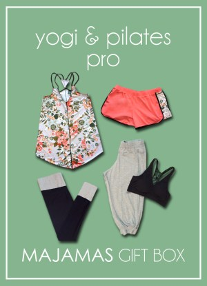 MAJAMAS Gift Box_Yogi and Pilates Pro copy 2017