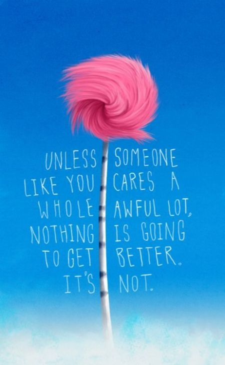 INSTA The Lorax Tree Quote