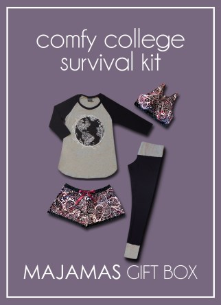 MAJAMAS Gift Box_Comfy College Survival Kit Fall 2017