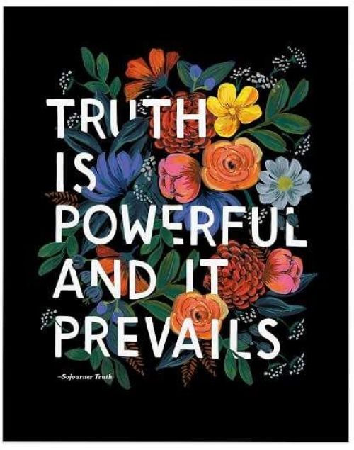 Truth Is Powerful & It Prevails Rifle Paper Co Quote.jpg