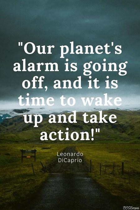 Planet Take Action Leonardo DiCaprio Quote