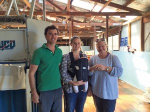 Zitron Hallet family in Tasmania
