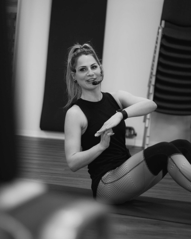 Malou Training and Coaching Niederbipp Group Fitness Instructor Nina von Arx