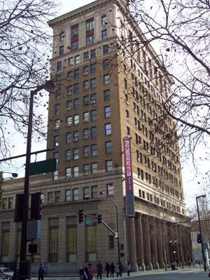 Premier bureau de iambic dans l'ancien building de Bank of America