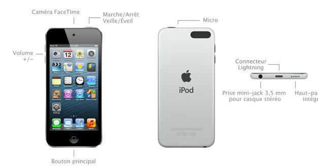 nouveau iPod touch low cost