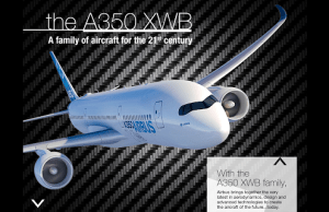 application Airbus 350 pour iPhone et Android