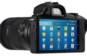 Premier appareil photo au monde sous Android avec objectifs interchangeables