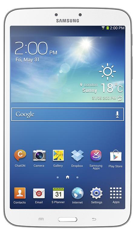Samsung présente sa nouvelle Galaxy tab3 8pouces