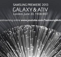 événement presse Samsung de Londres le 20 Juin 2013