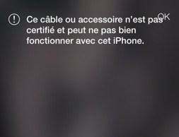 iOS7 bloque la synchronisation