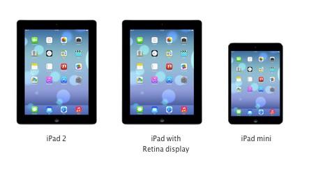 ios7 sur iPad