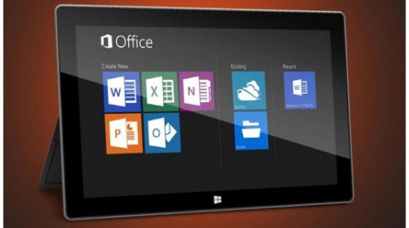 Microsoft Office offert sur les tablettes Windows