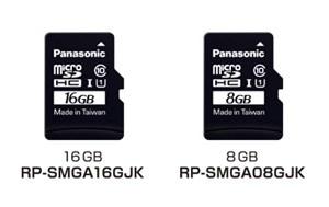 panasonic microSD étanche