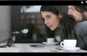 Publicité Snapdragon de Qualcomm, il est mignon ce dragon dans votre smartphone