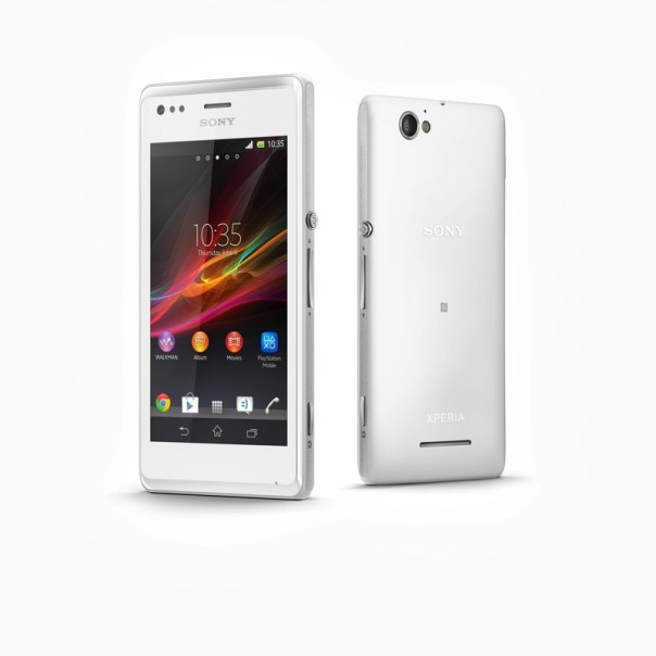 nouveau smartphone Android Sony Xperia M