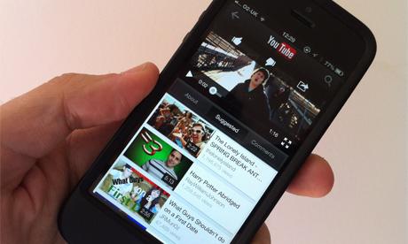 Youtube Mobile a triplé ses revenus