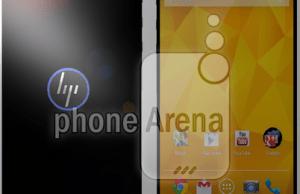 image Photoshop d'un possible smartphone HP