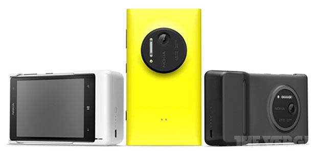 Nokia Lumia et le grip