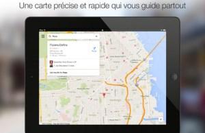 Google Maps 2.0 pour iOS