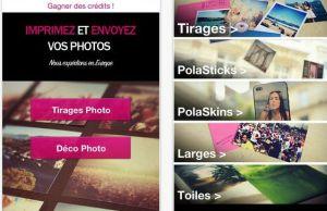 application Polagram pour imprimer ses photos directement depuis son smartphone