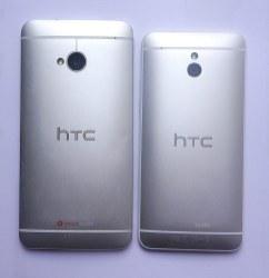 vue de dos des 2 HTC One