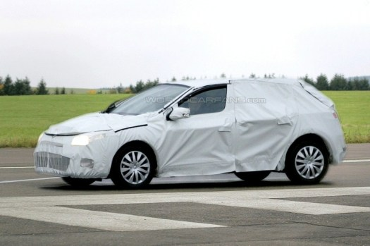 camouflage prototype voiture Renault
