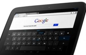 actuelle tablette Nexus 10 par Samsung