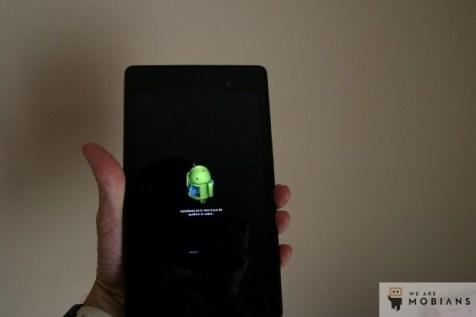 téléchargement de la mise à jour Android automatique