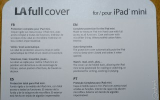La full Cover Ipad mini