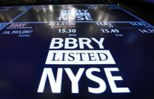 Blackberry pense à quitter la Bourse