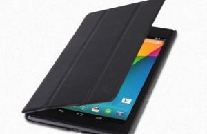 étui cuir de protection avec rabat pour Google Nexus 7 2