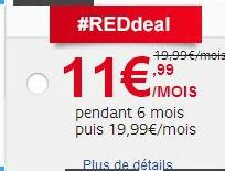 offre red 3Go chez SFR