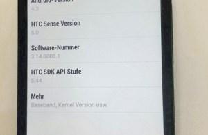 mise à jour Android 4.3 pour HTC One