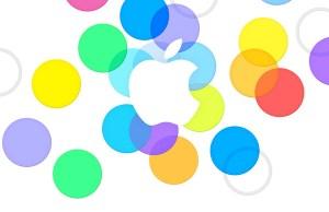 carton d'invitation Apple pour son événement presse du 10 Septembre 2013