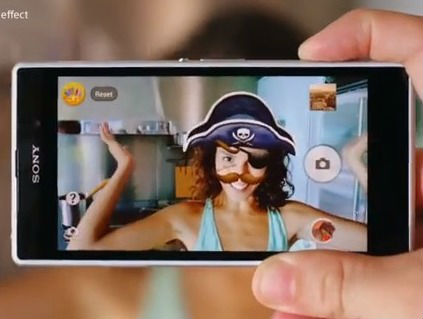 Xperia Z1 réalité augmentée